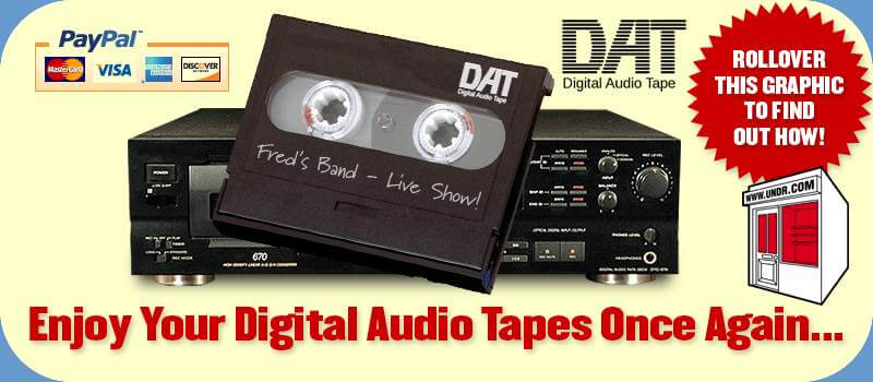 DAT To CD Conversion Services