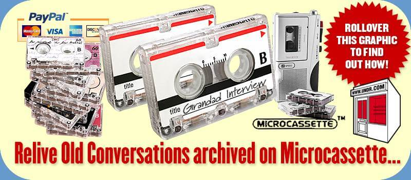 Microcassette To CD Conversion Services