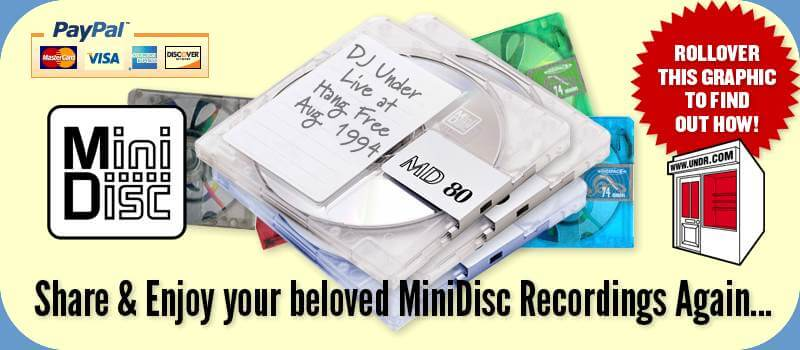 Minidisc To CD Conversion Services