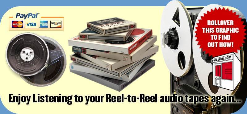Reel-to-Reel To CD Conversion Services