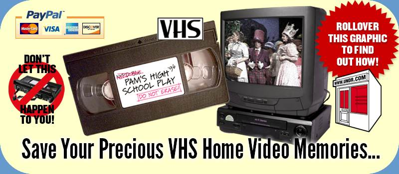 VHS To MP4 Video Conversion Services